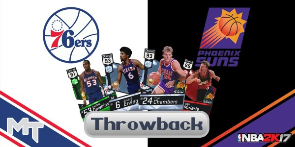 NBA 2K17 Throwback Thursday Packs In First Week Of November