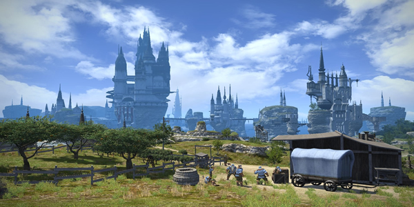 FFXIV A Realm Reborn & Eorzea: A Land Embraced By Gods