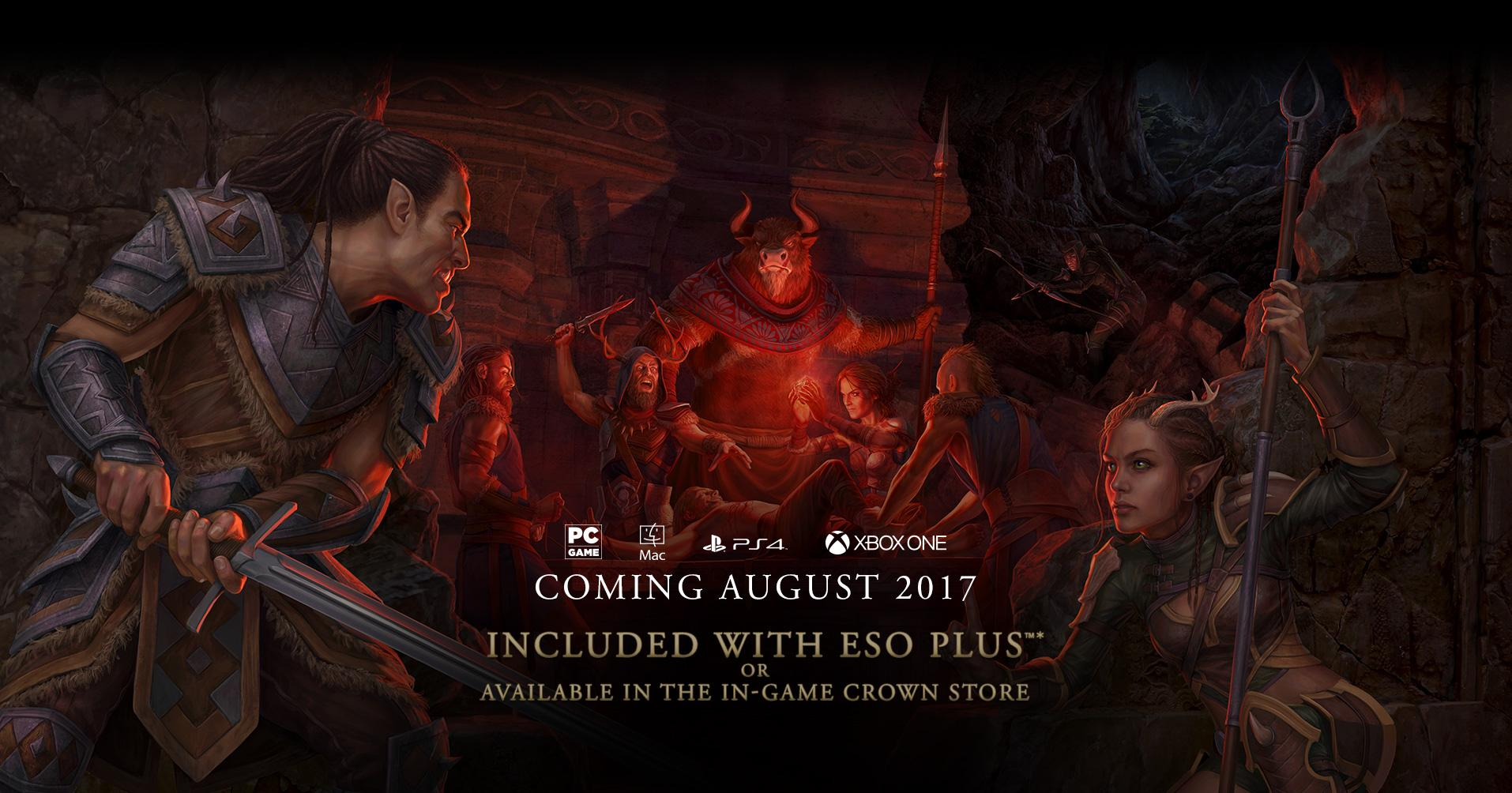 Bethesda Plans To Release New DLC Pack For The Elder Scrolls Online MMORPG