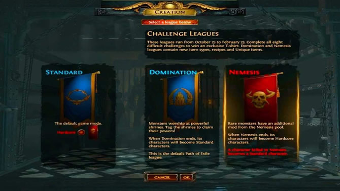 How Many Types Of League In Path Of Exile?