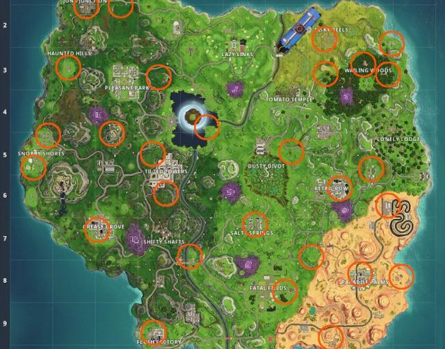 Best Way to Find Fortnite Quadcrasher Locations